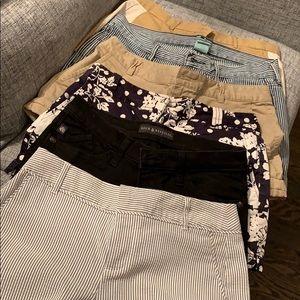 6 pairs of ladies shorts